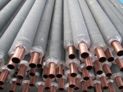 Copper aluminum composite fin tube