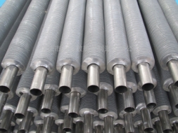 Extruded stainless steel fin tube